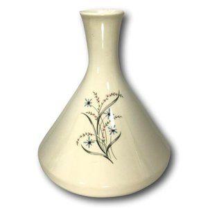 Vintage MCM Studio Pottery Floral Ceramic Decanter